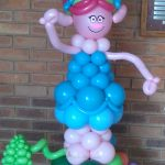 Poppy balloon sculpture