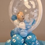 Baby in a Bubble Design for a Welcome Home Baby